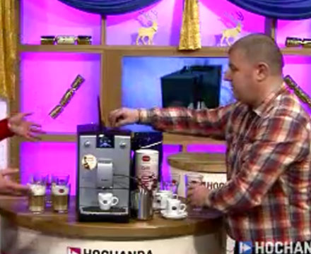 Hochanda TV featuring our partner Coffeebeans-Coffeemachines